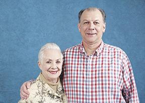 Barnhoorn and Shirley Jones