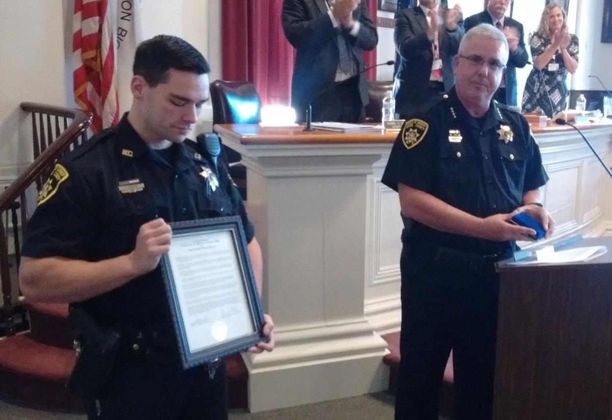 Wayne County Sheriff's deputy honored for 'bravery and