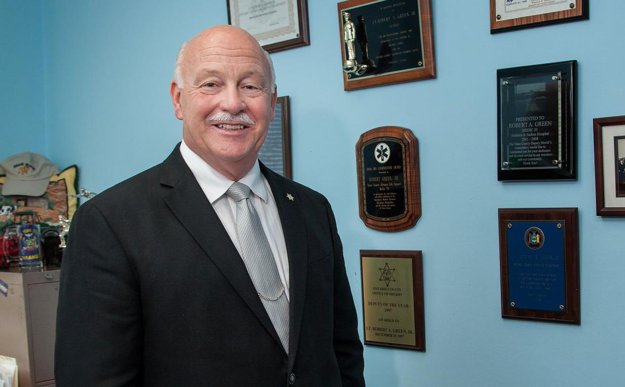 PODCAST: Ontario County Sheriff Candidate Bob Green touts experience, commitment to community