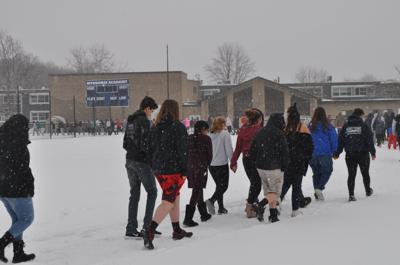 Student walkout: Seneca Falls