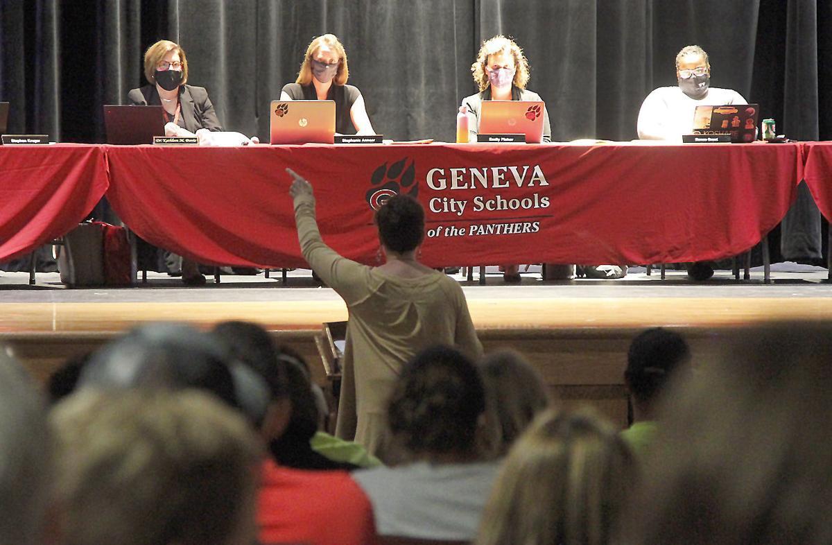 Geneva City School District Board of Education meeting