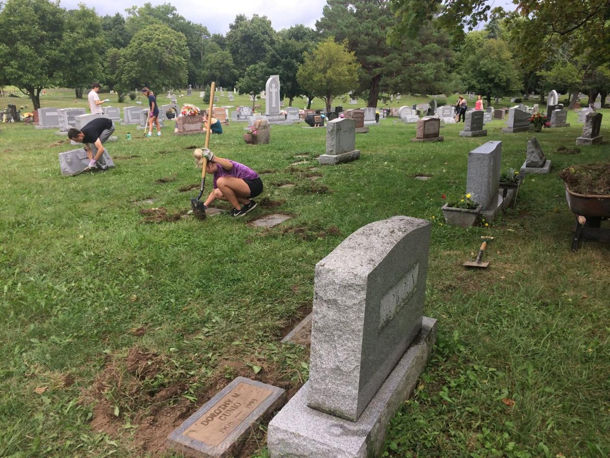 Glenwood Cemetery Cleanup