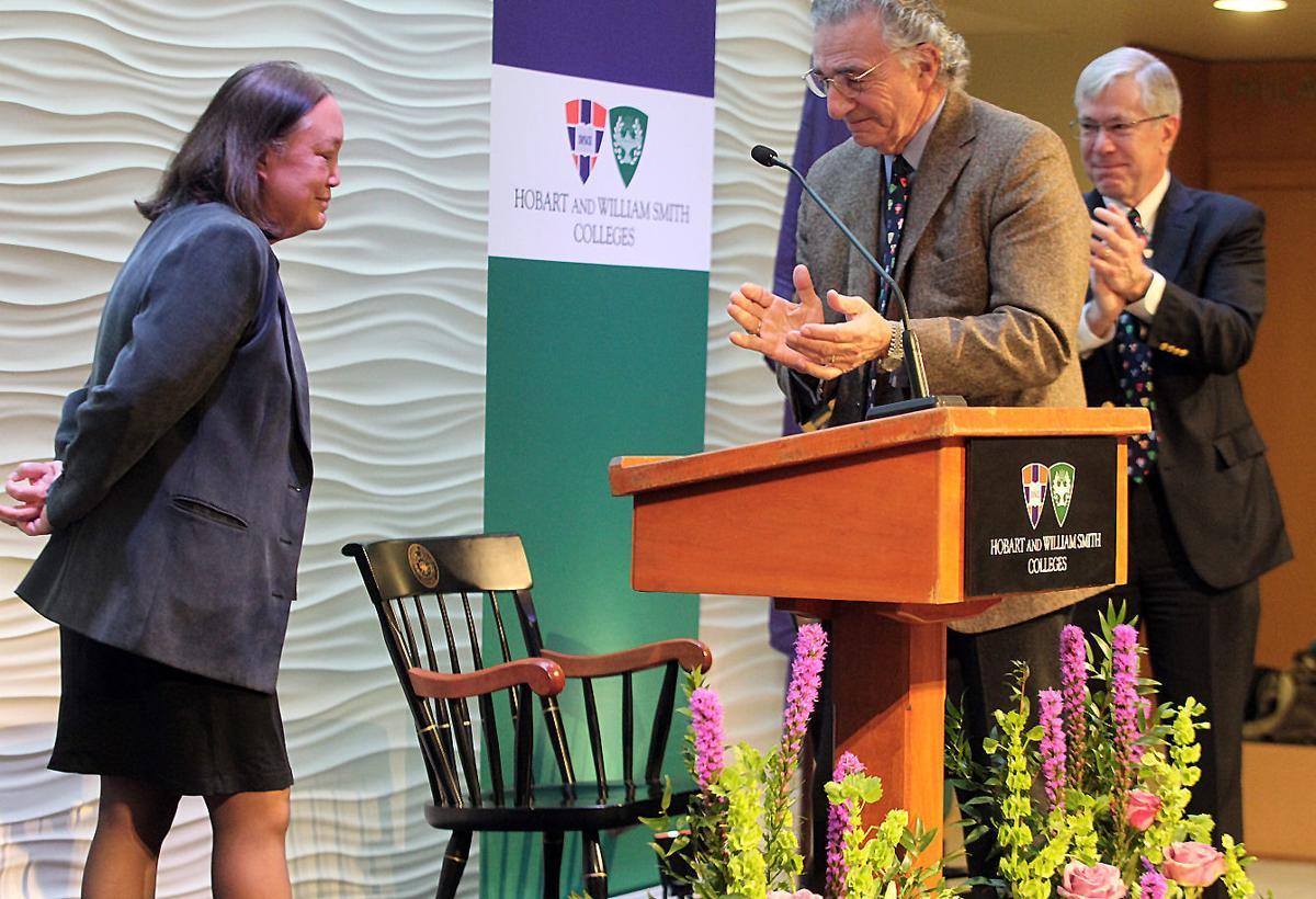 Joyce Jacobsen, new HWS president