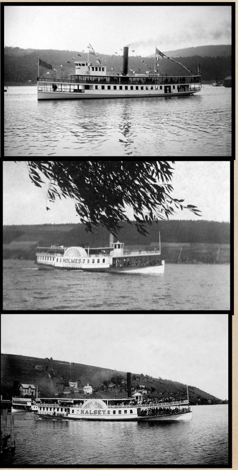 Keuka Lake steamboats