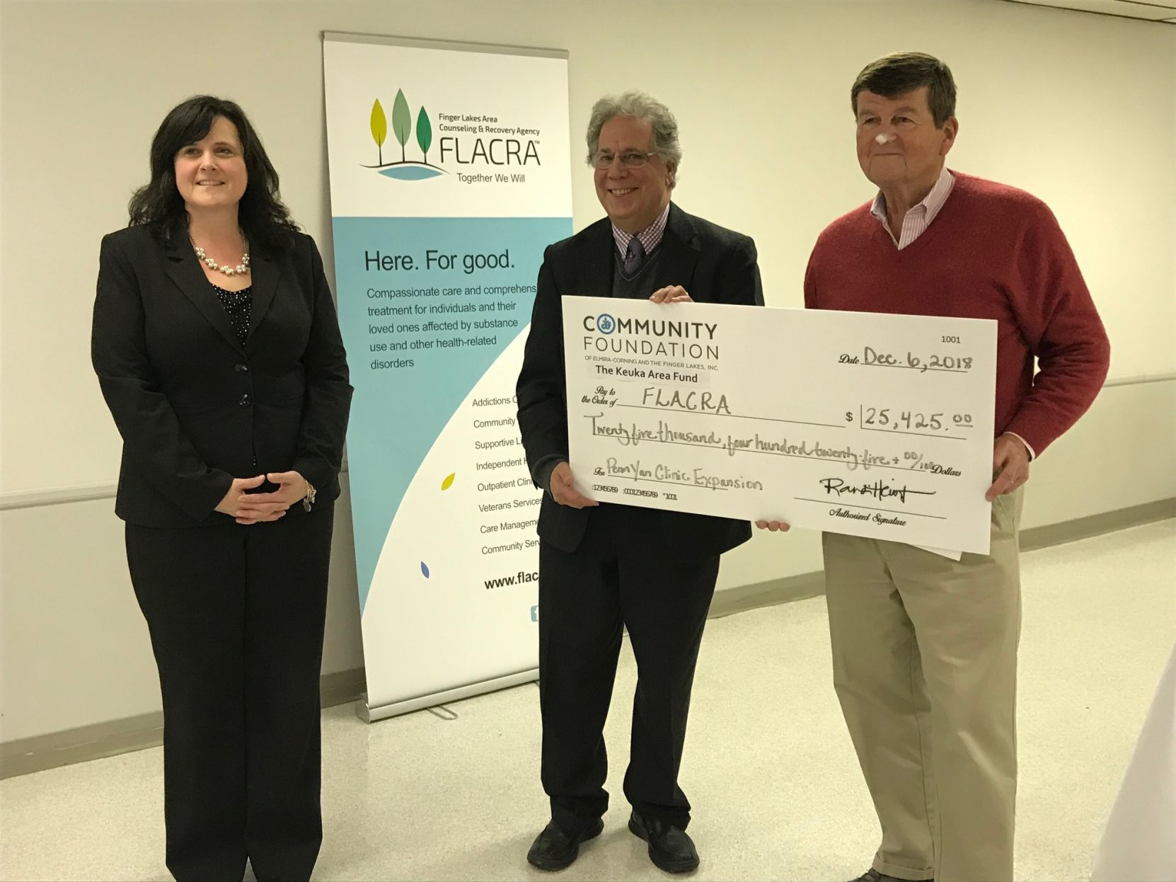 Donation to aid FLACRA's Yates County expansion