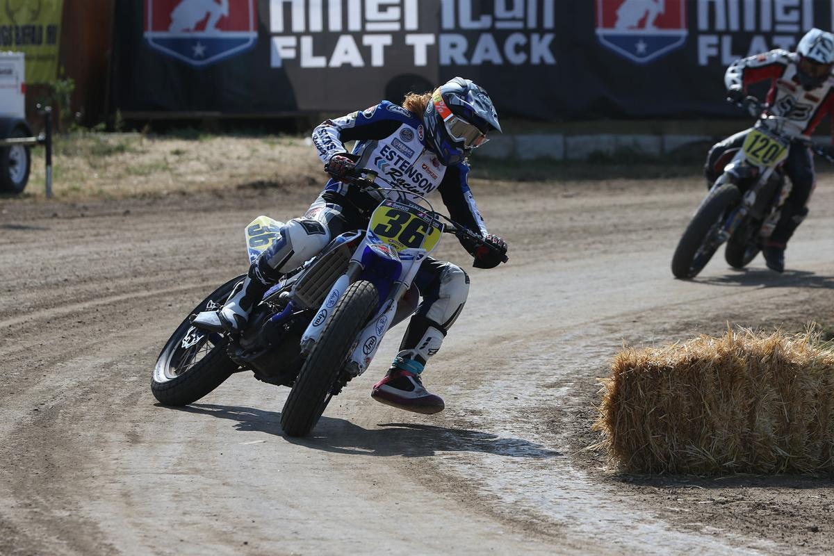 Kolby Carlile racing