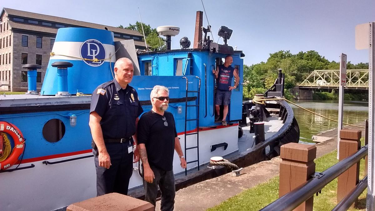Tugboat operator saves woman from drowning in Seneca Falls
