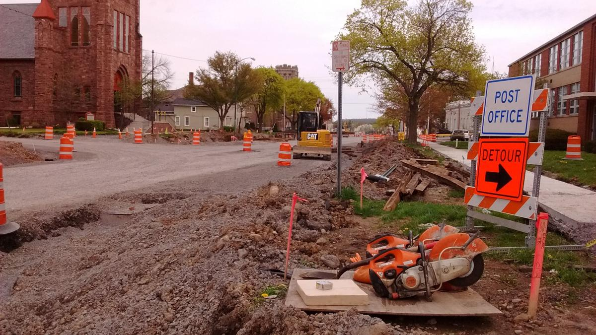 South Main Street reconstruction