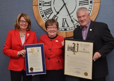 Canandaigua Mayor Ellen Polimeni honored by Assemblyman Kolb, Senator Helming