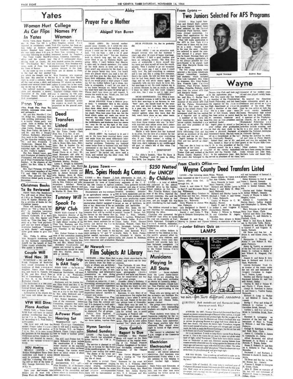 November 14, 1964 (page 8)