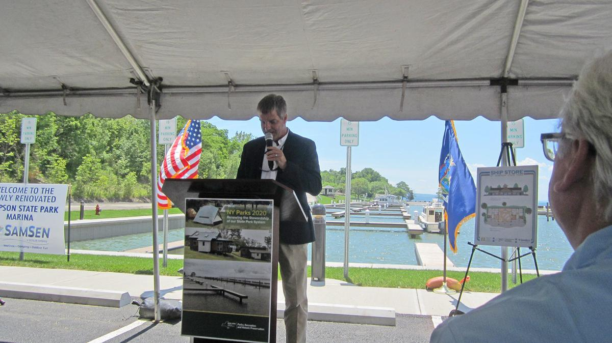 Public-private partnership produces renovated marina at Sampson