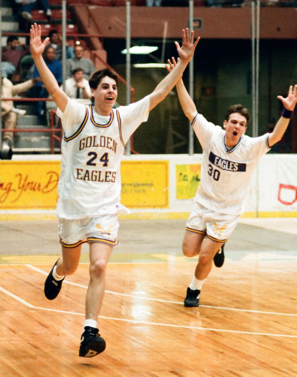 Clyde-Savannah basketball 1993