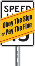 Obey the sign graphic
