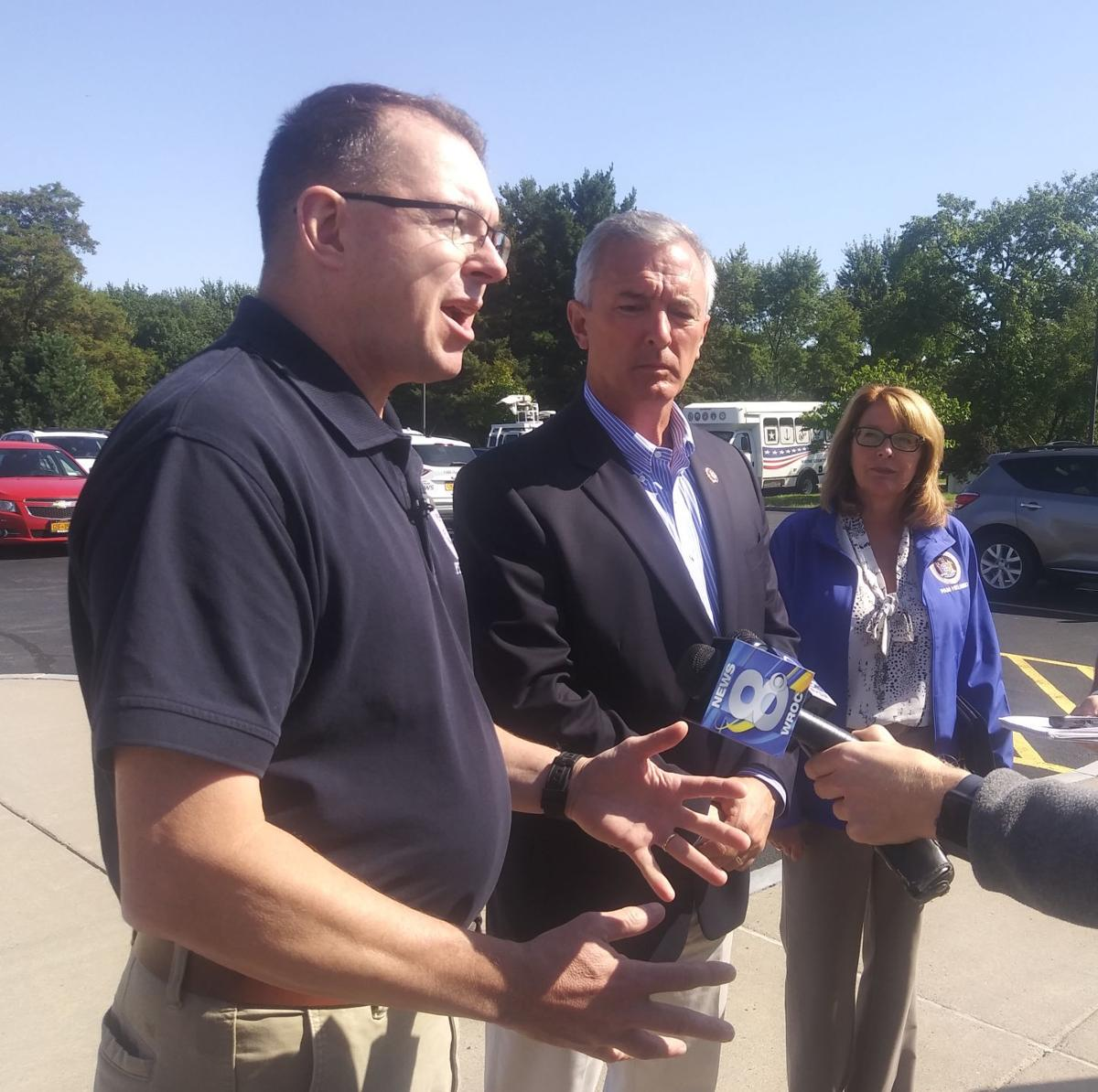 FEMA director in Wayne County