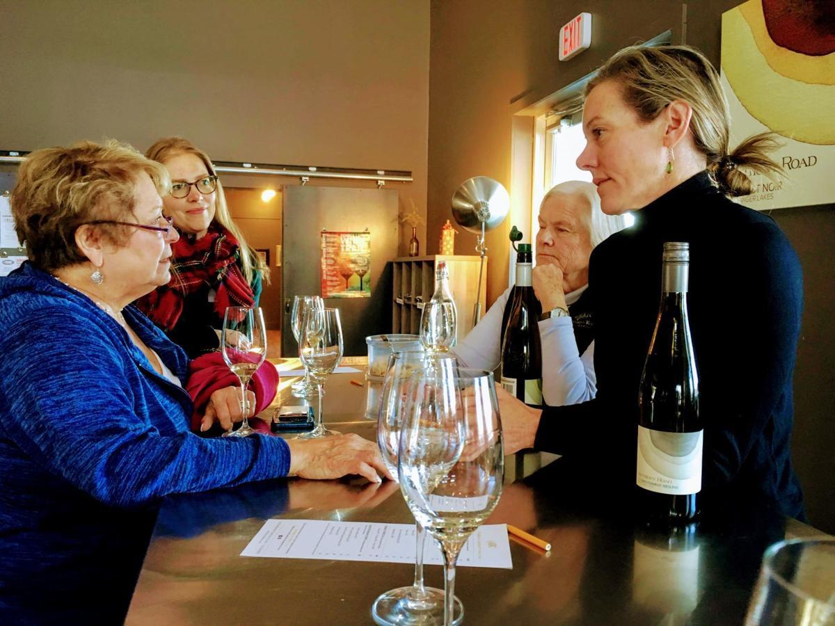 Wine leaders get taste of the Finger Lakes