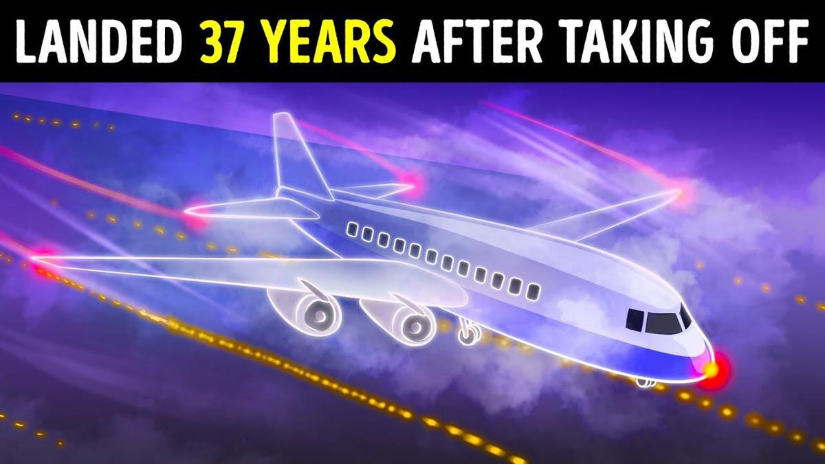 after 37 years plane landed