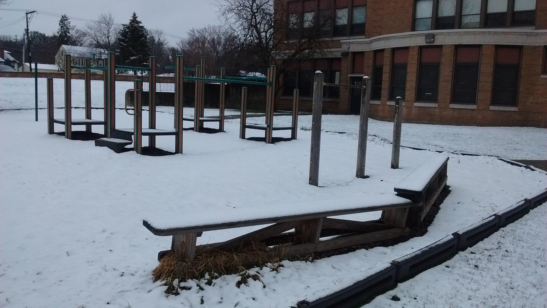 Perkins Elementary School playground Newarku0027s Perkins Elementary