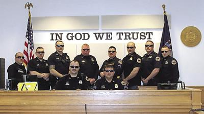 OFFICER, WE HAVE A HAIRY SITUATION: GPD's annual mustache fundraiser