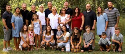 Chuck Verkey and family