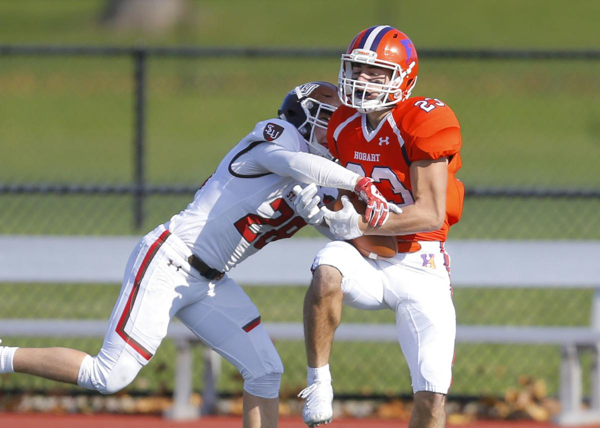 St. Lawrence at Hobart football