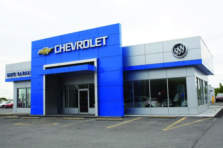 Barnards New Look For Renovated Geneva ChevyBuick - Buick dealership