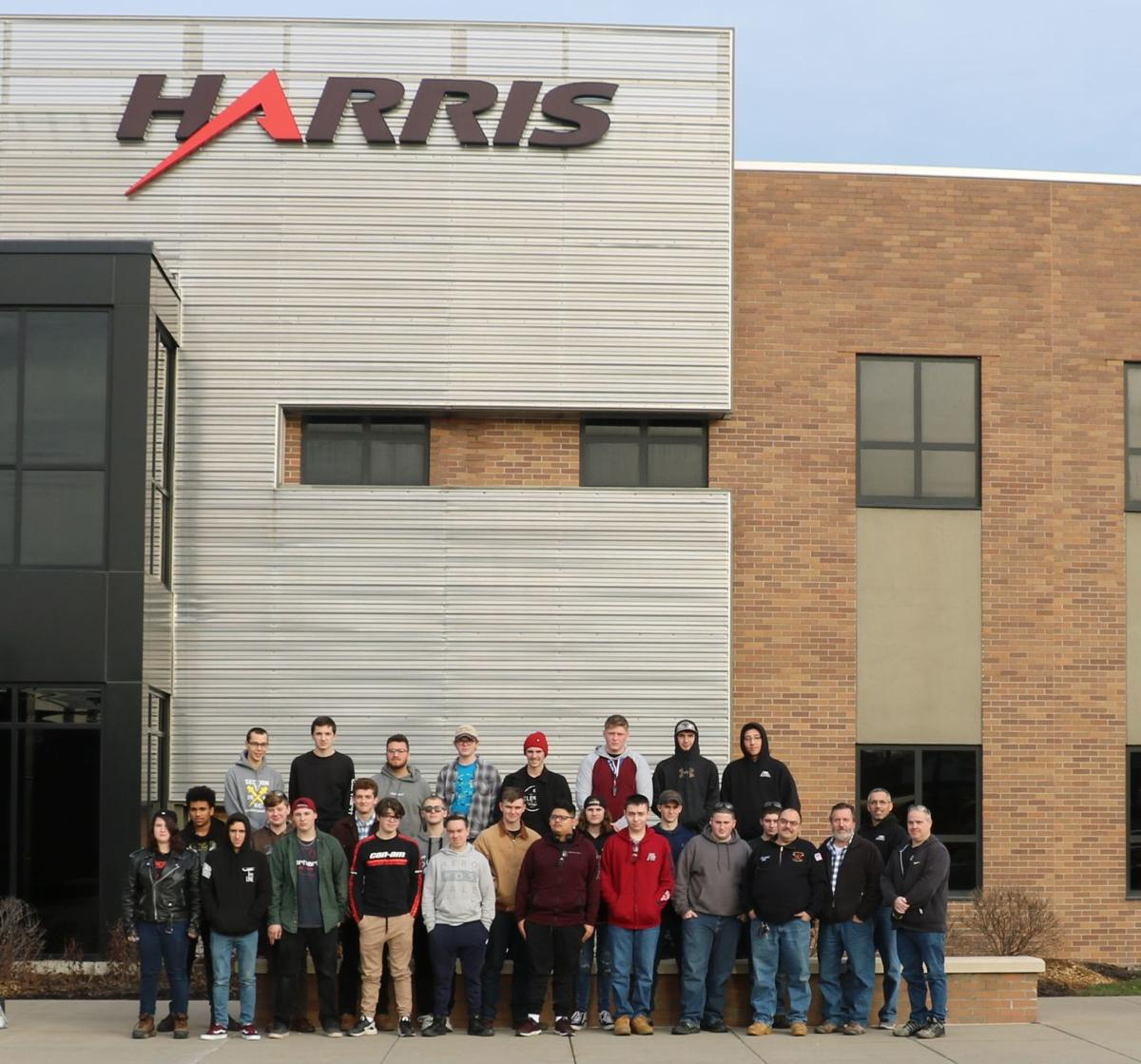 Tech students tour Harris Communications