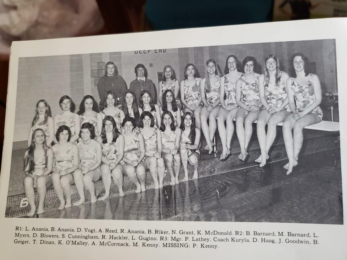 Geneva '75 girls swim and dive team