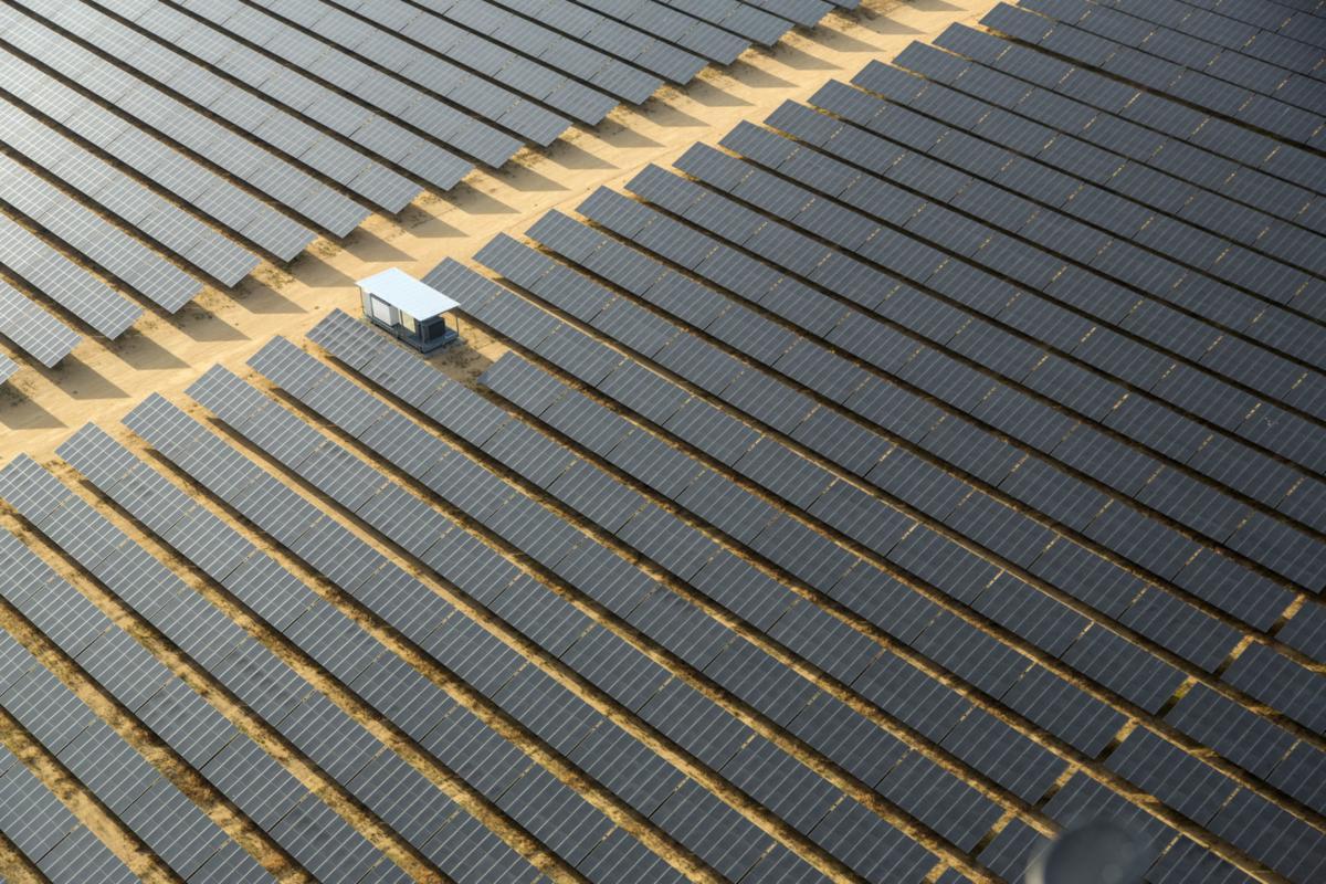 Catalina Solar, Parc Photovoltaique Geant, Rosamond en Californie.