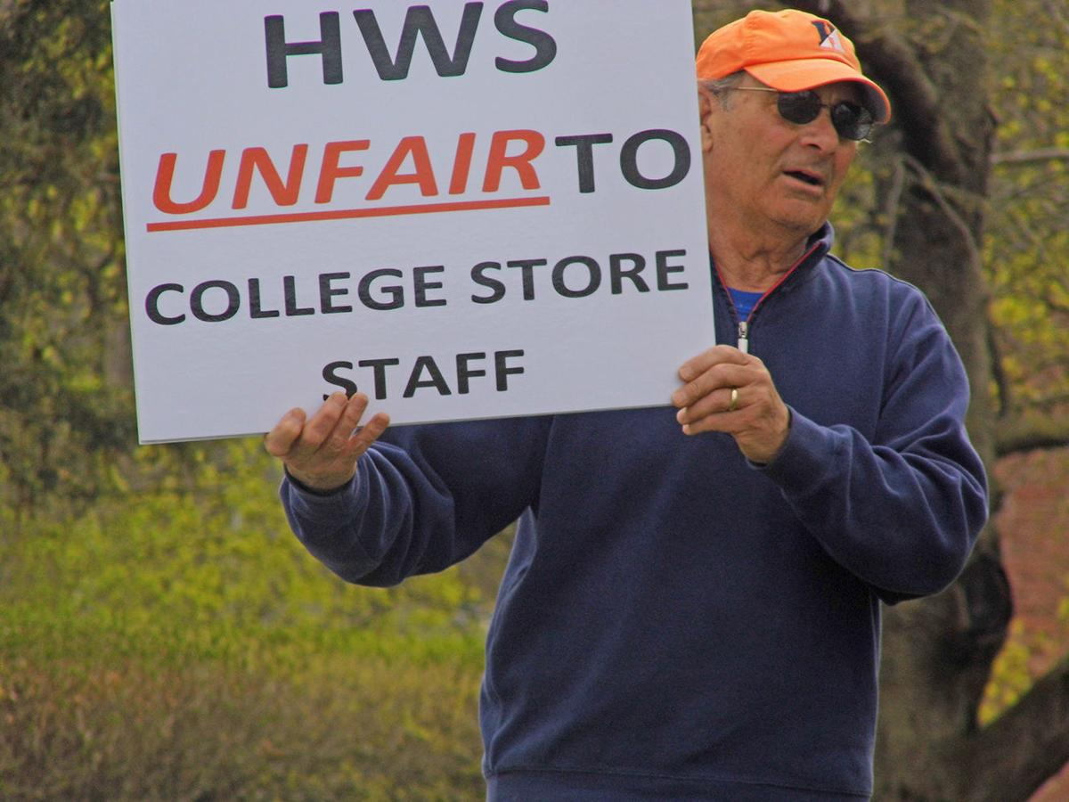 Page turning for HWS bookstore