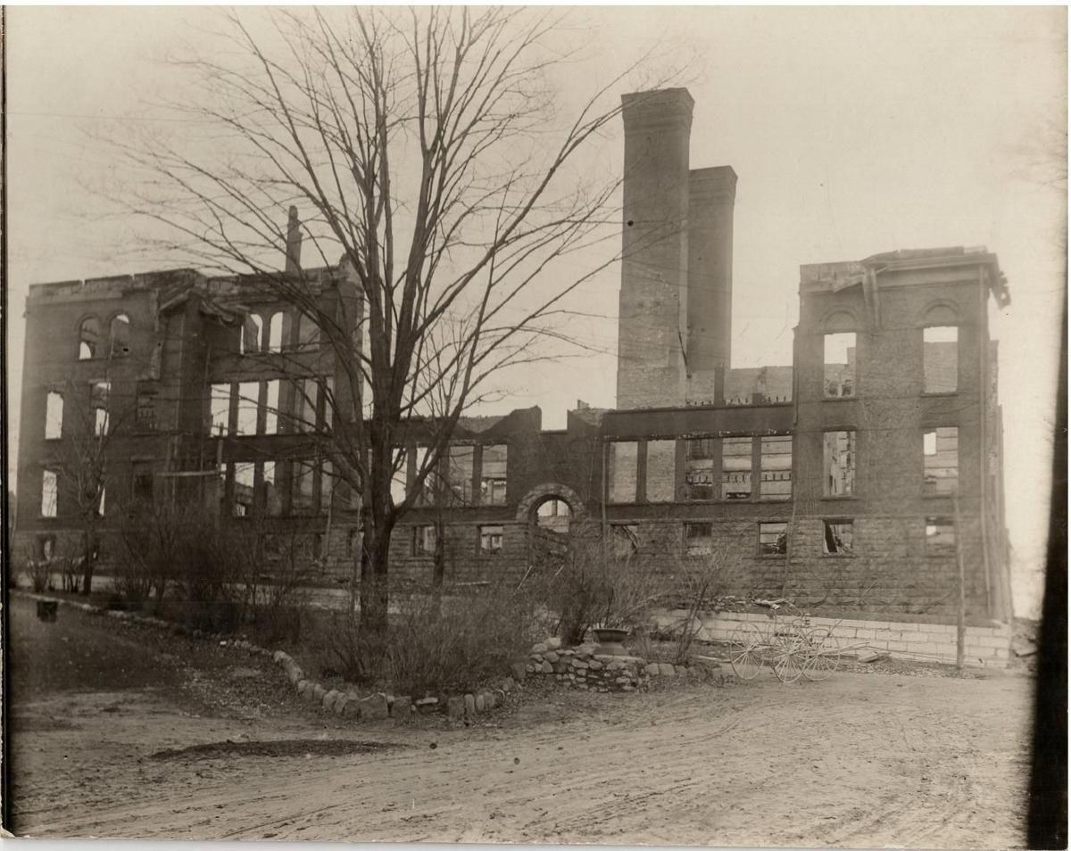 Lyons school fire centennial