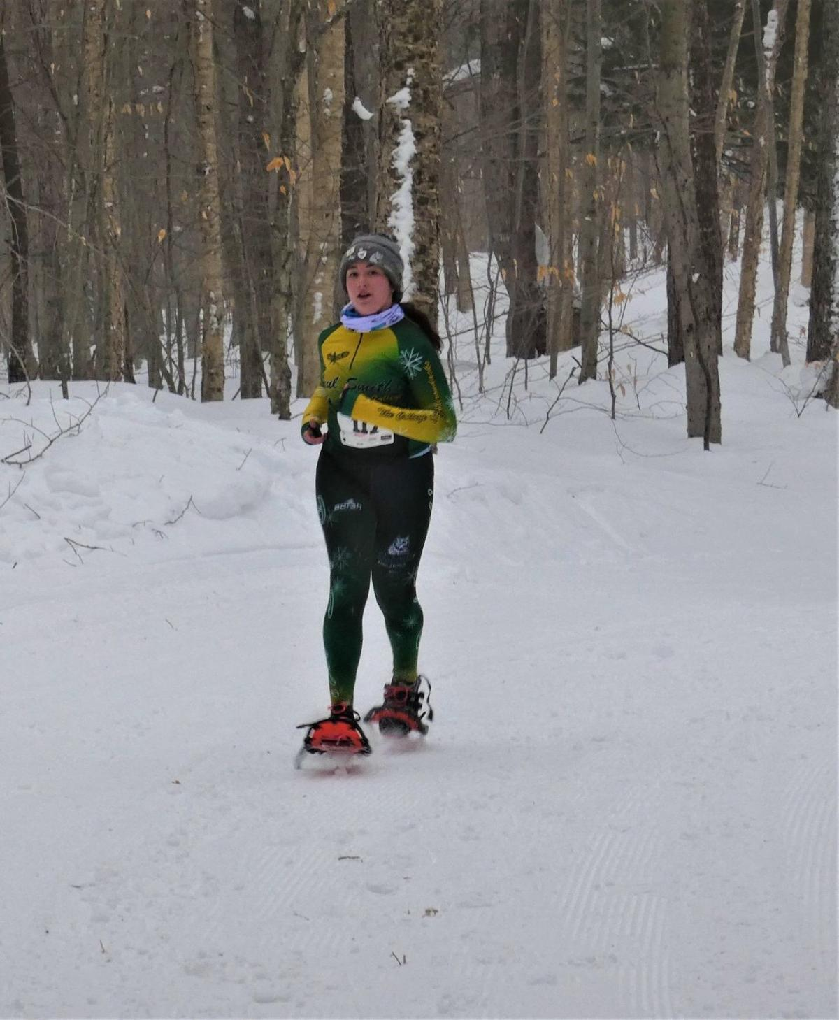 Snowshoe athlete Margret Montag