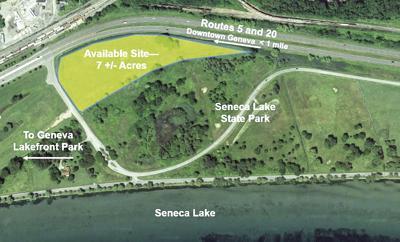 Lakefront land sale
