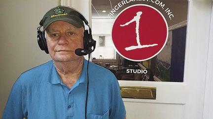 Weber in studio