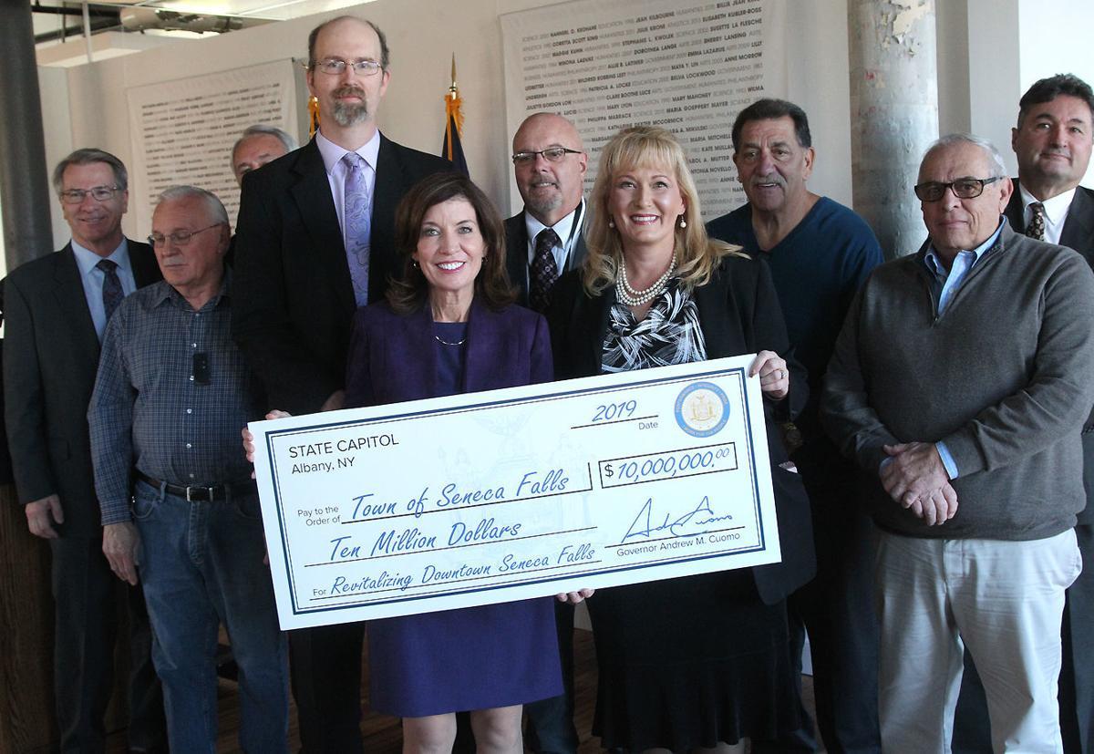 $10 million DRI grant