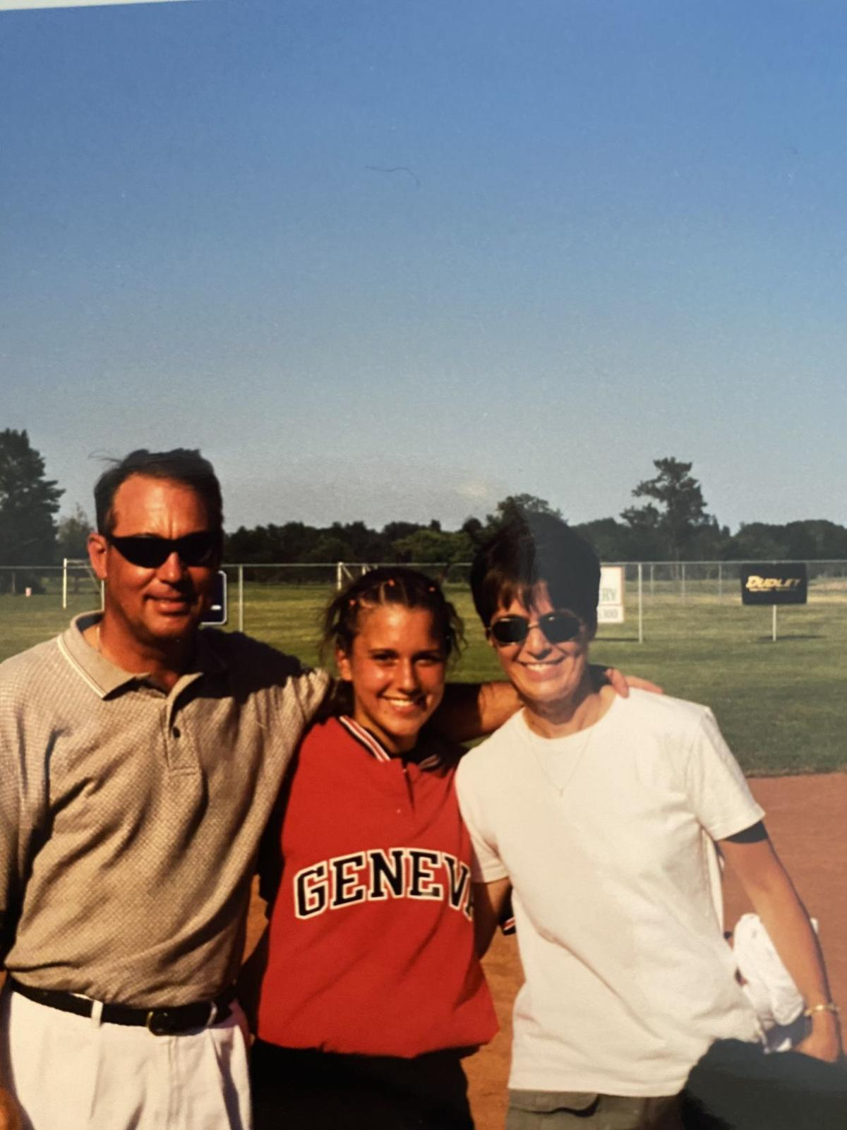 Beth Mabry softball