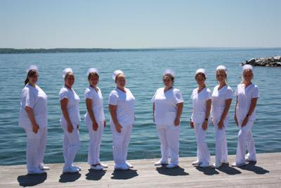 Marion S. Whelan School of Nursing graduates