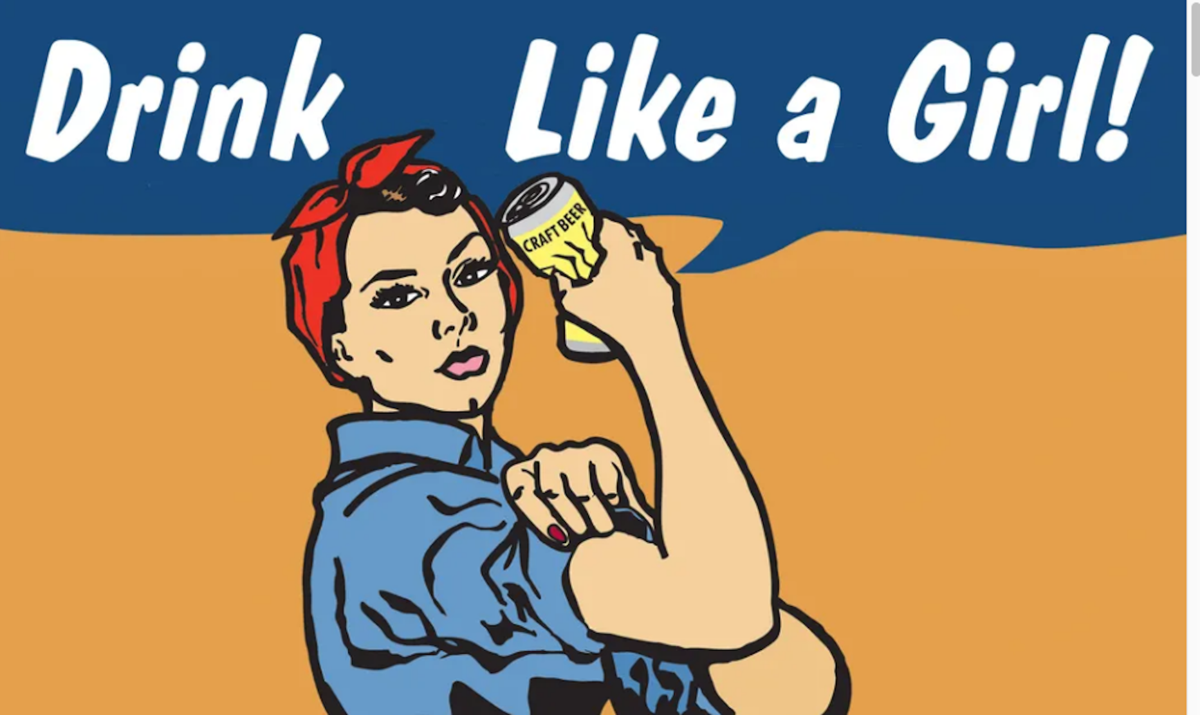 Drink Like a Girl Logo