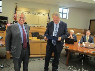 Nick Massa honored by mayor