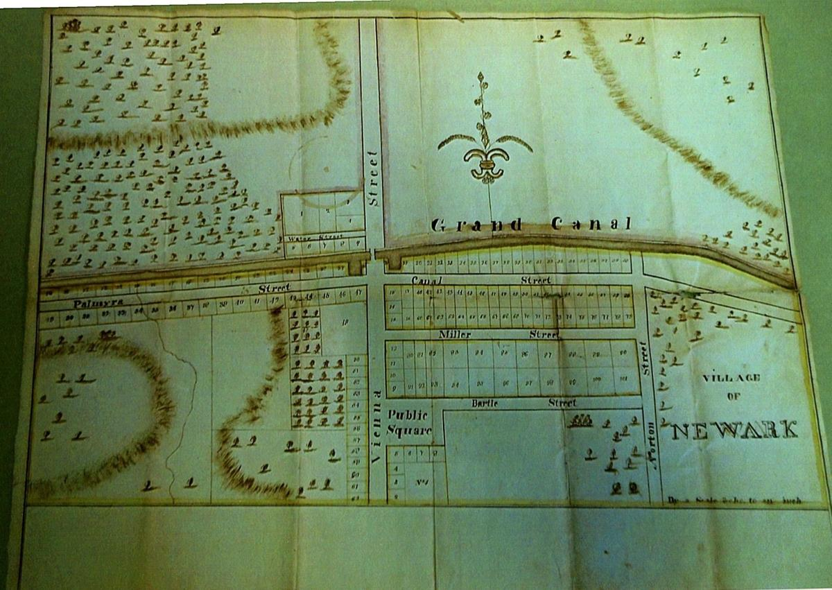 Old Newark map