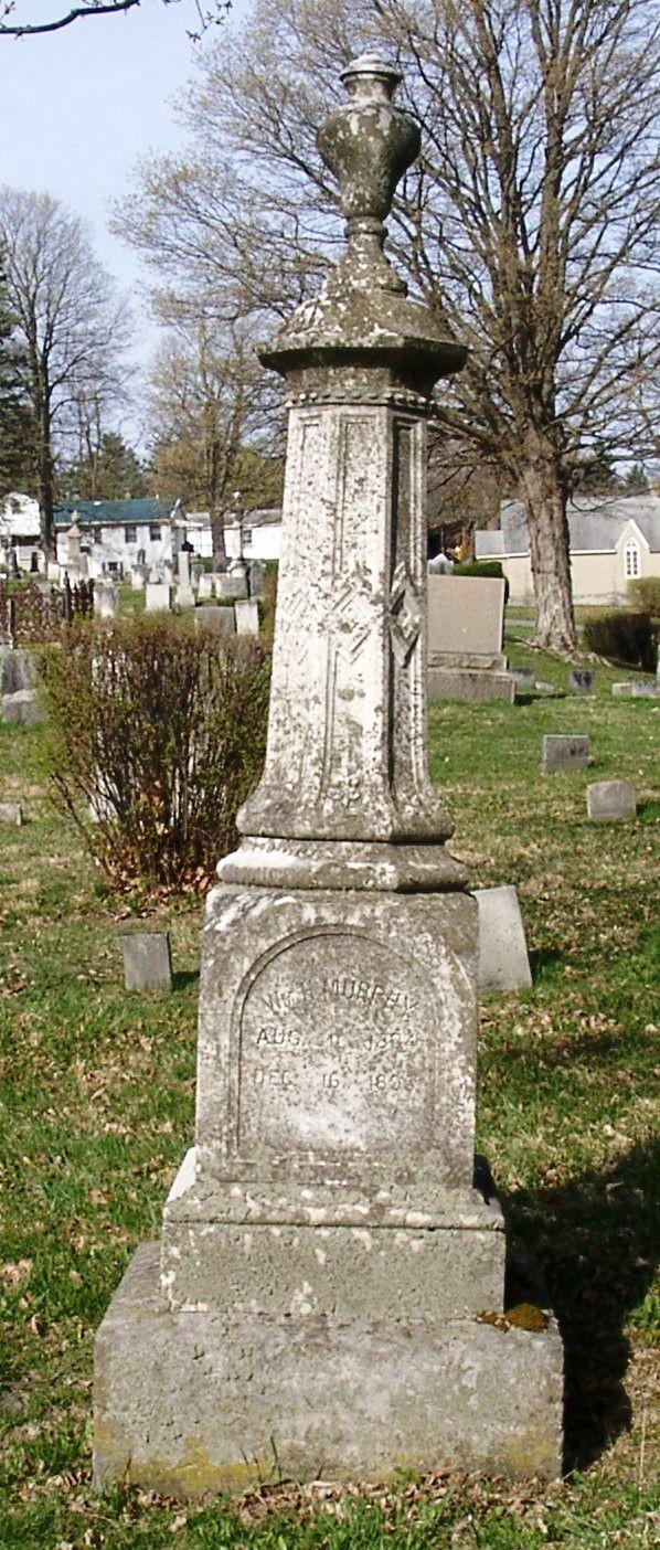 W.H. Murphy gravestone