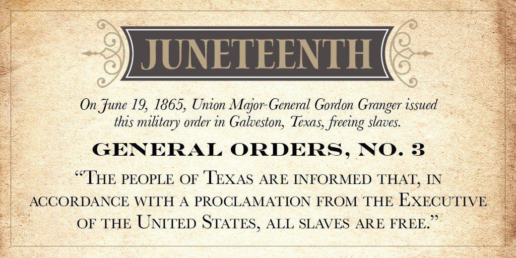LOOKING BACK: Maj. Gen. Gordon Granger, the man behind Juneteenth |  Lifestyle | fltimes.com