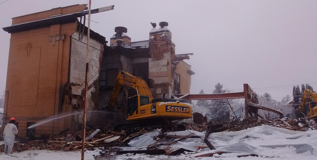 Roosevelt School in Newark razed to make way for Byrne Dairy