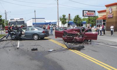 Newark crash