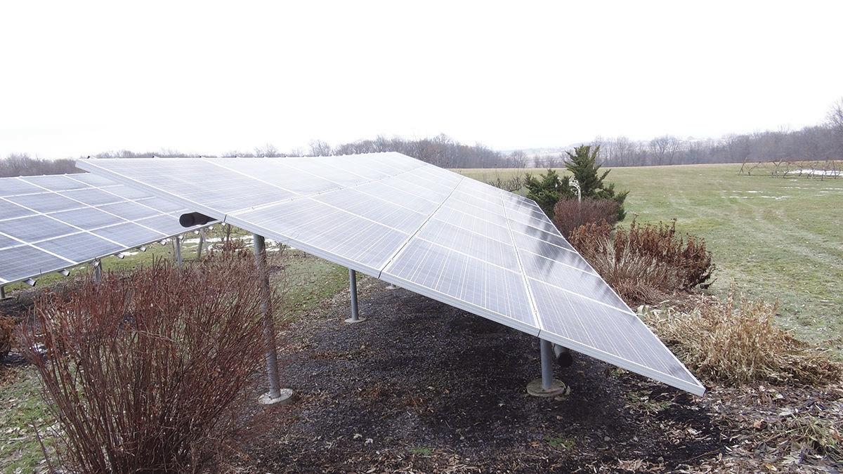 Los Gatos solar panels