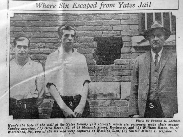 Yates County Jail escapees