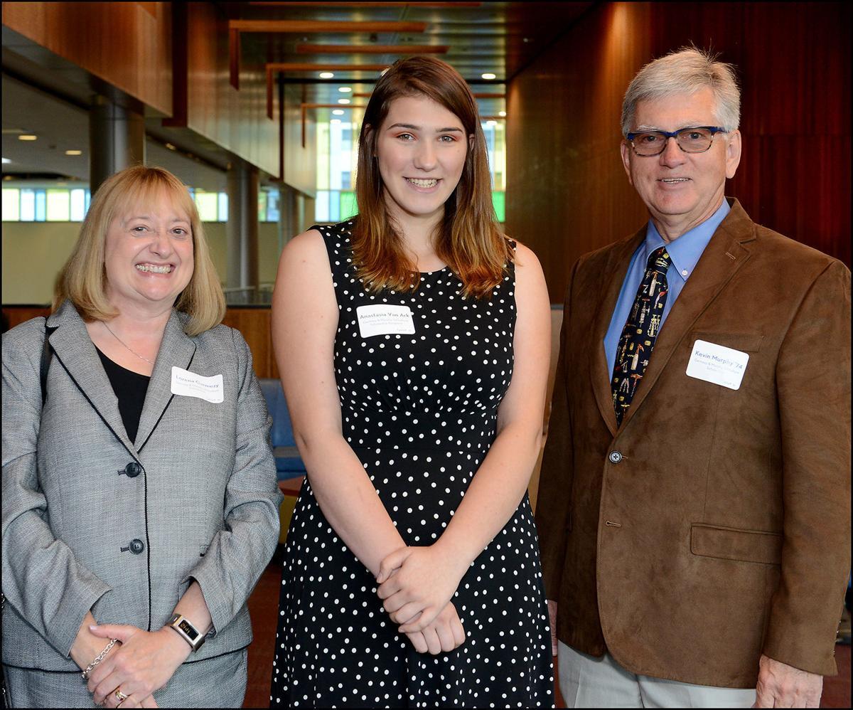 Van Ark receives viticulture scholarship to FLCC