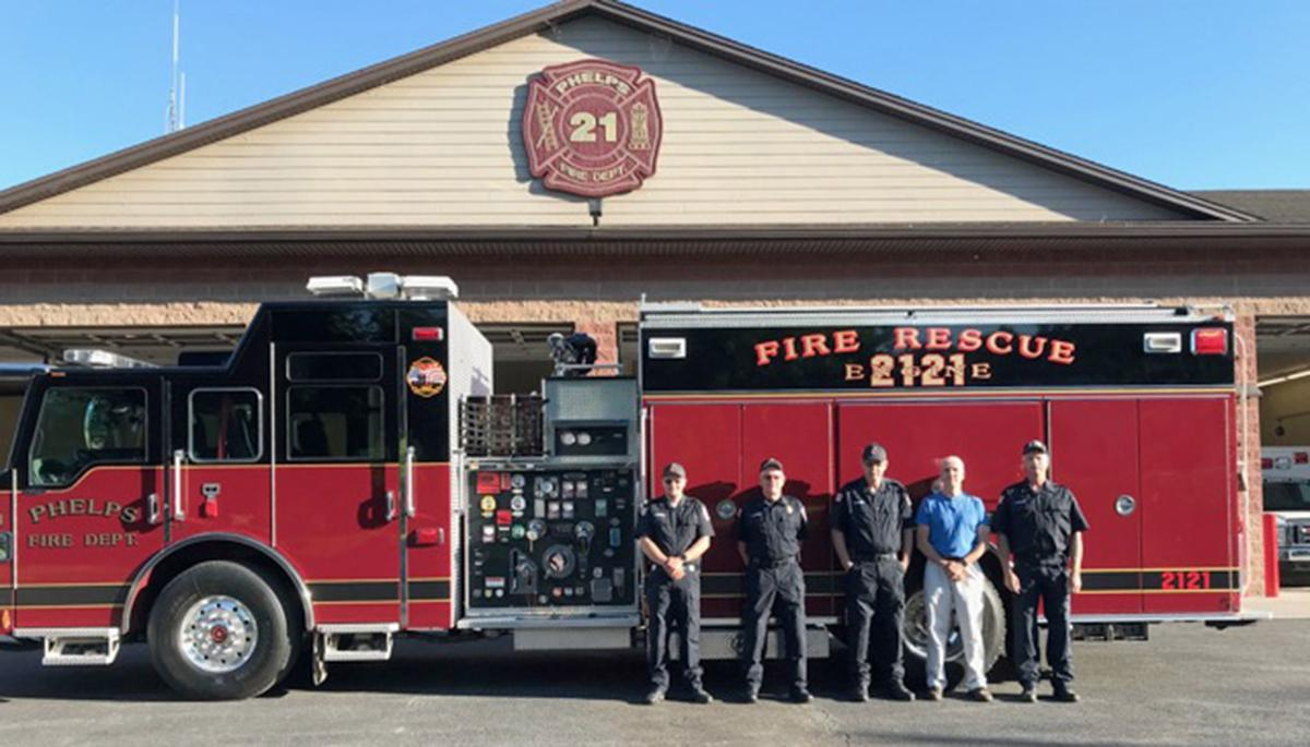 Phelps fire truck
