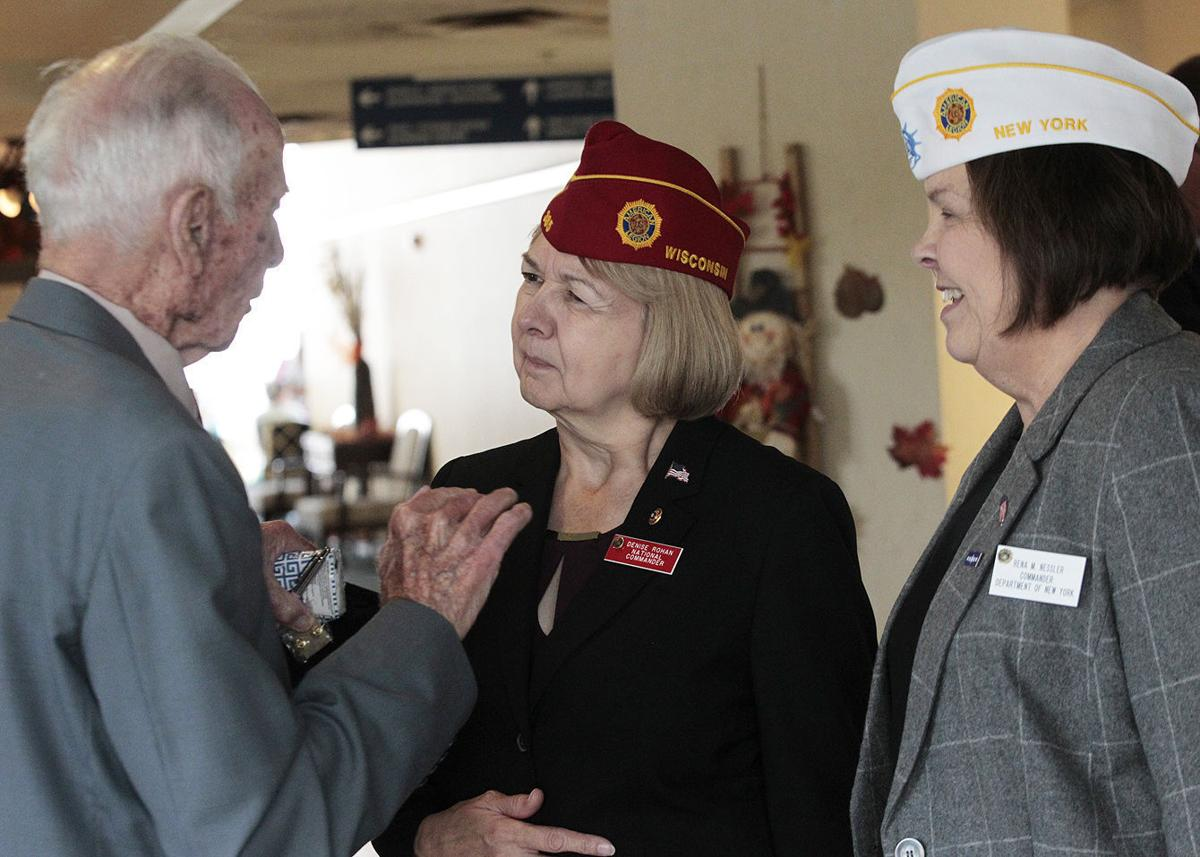 First woman national commander of American Legion visits