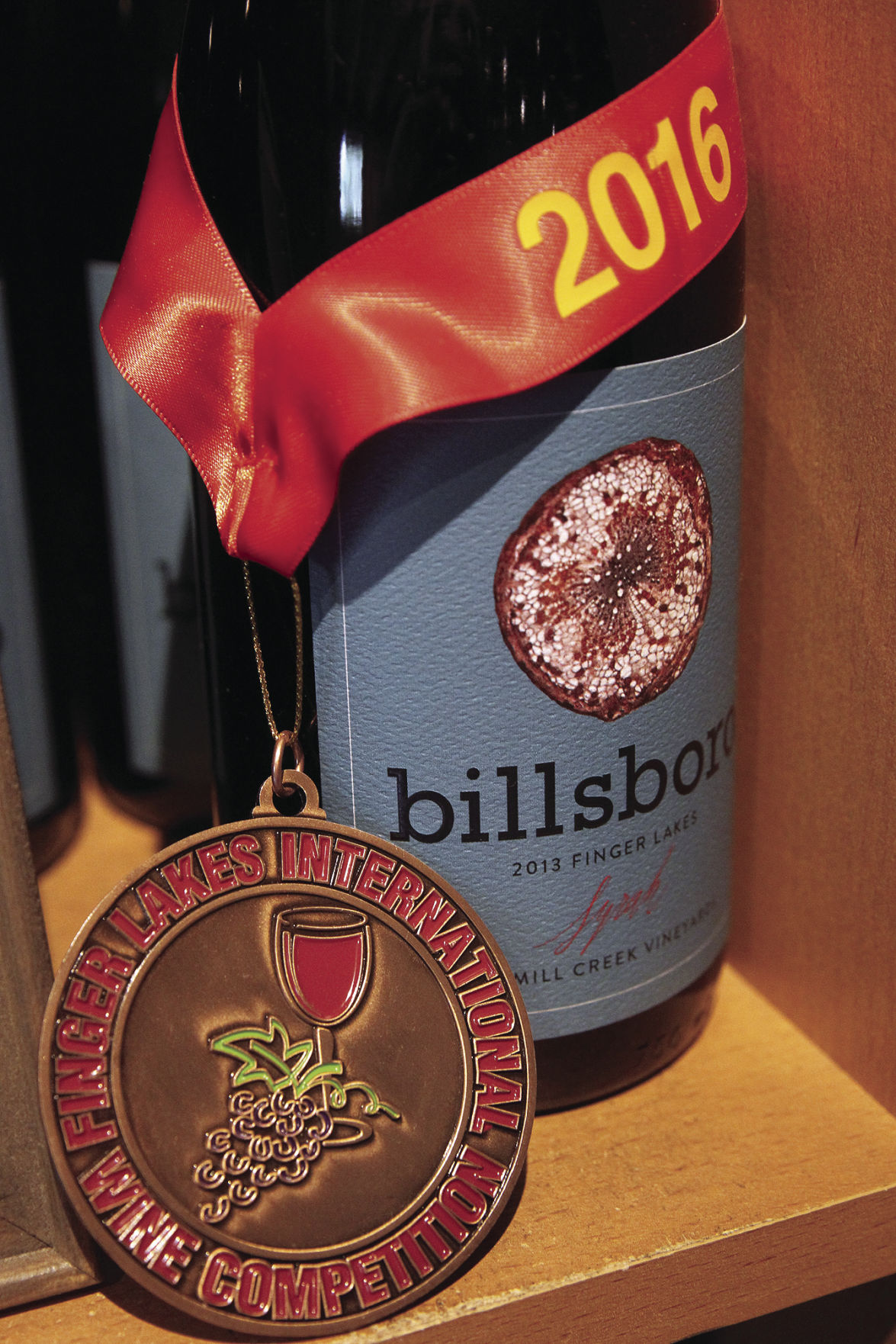 The winning wine