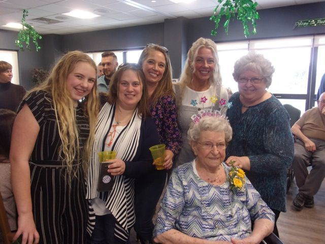 Gladys Powers turns 100